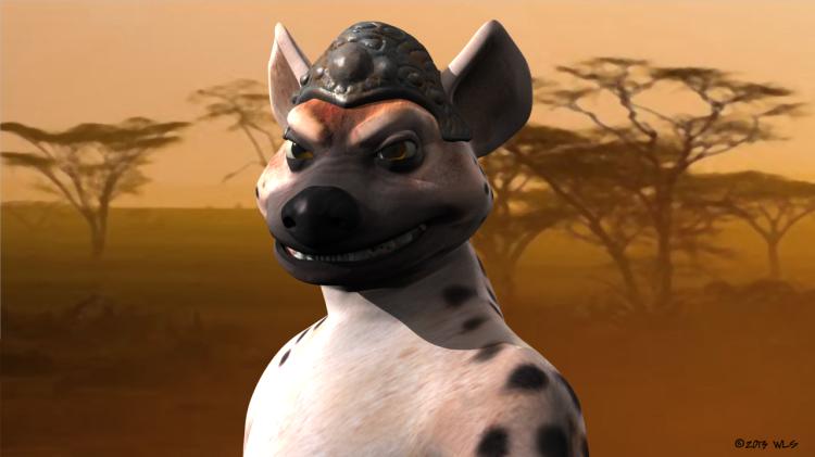hyena-helmet